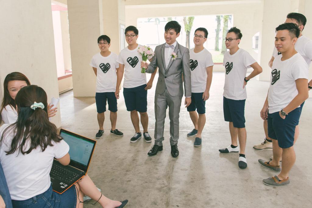 Singapore Wedding Photography Gatecrash Games