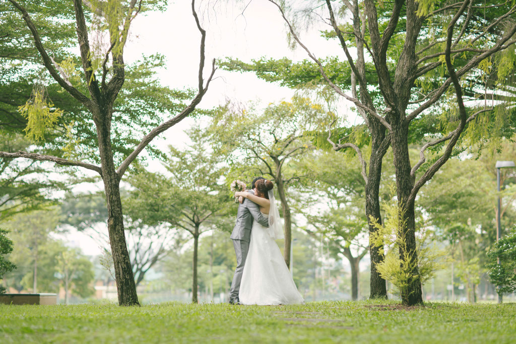 Singapore Wedding Photography Outdoor Shoot