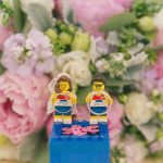Running and Lego-themed Singapore Wedding Day Photography at Goodwood Park Tudor Courtyard