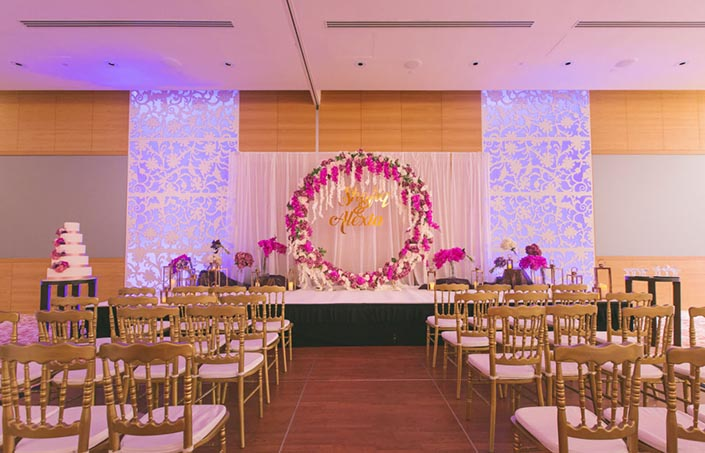 Singapore Wedding Day Photography at Grand Hyatt - Styling by Inside the Knot
