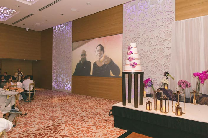 Singapore Wedding Day Photography at Grand Hyatt - Video of well-wishes