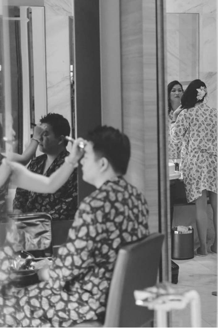 Hair & Makeup by Joyce Yeo Makeup at Hotel Fort Canning