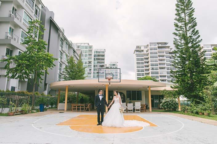 Carmel Presbyterian Church Wedding Day Photography Singapore