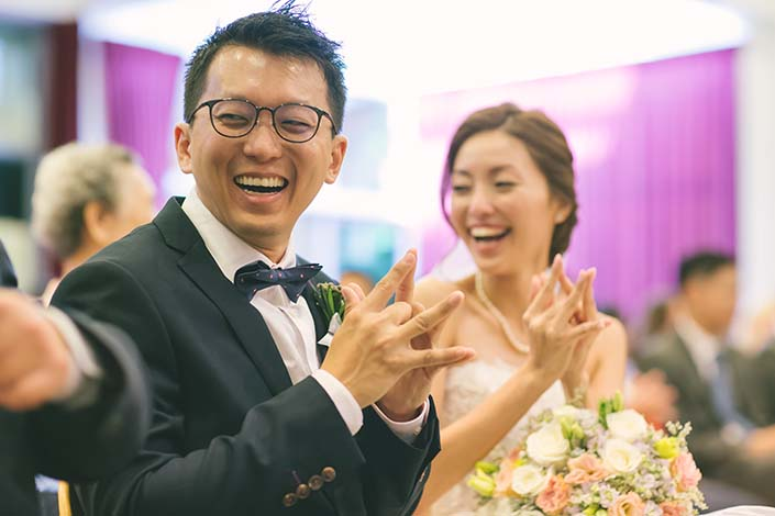 Singapore Wedding Day Photography at Carmel Presbyterian Church
