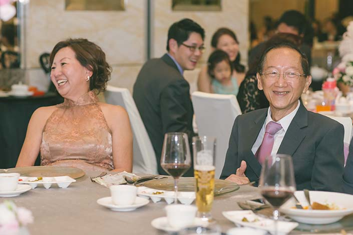 Singapore Wedding Day Photography Thank You Speech at Westin