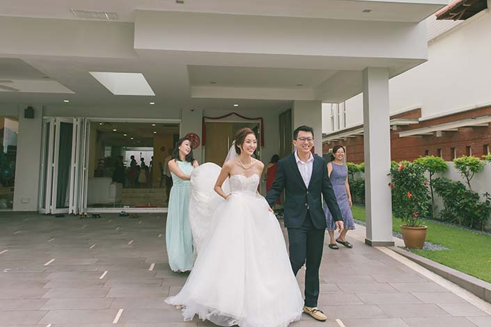 Singapore Wedding Day Photography
