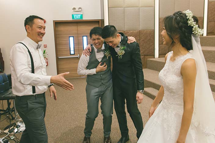 Singapore Wedding Day Photography at Christian Community Chapel