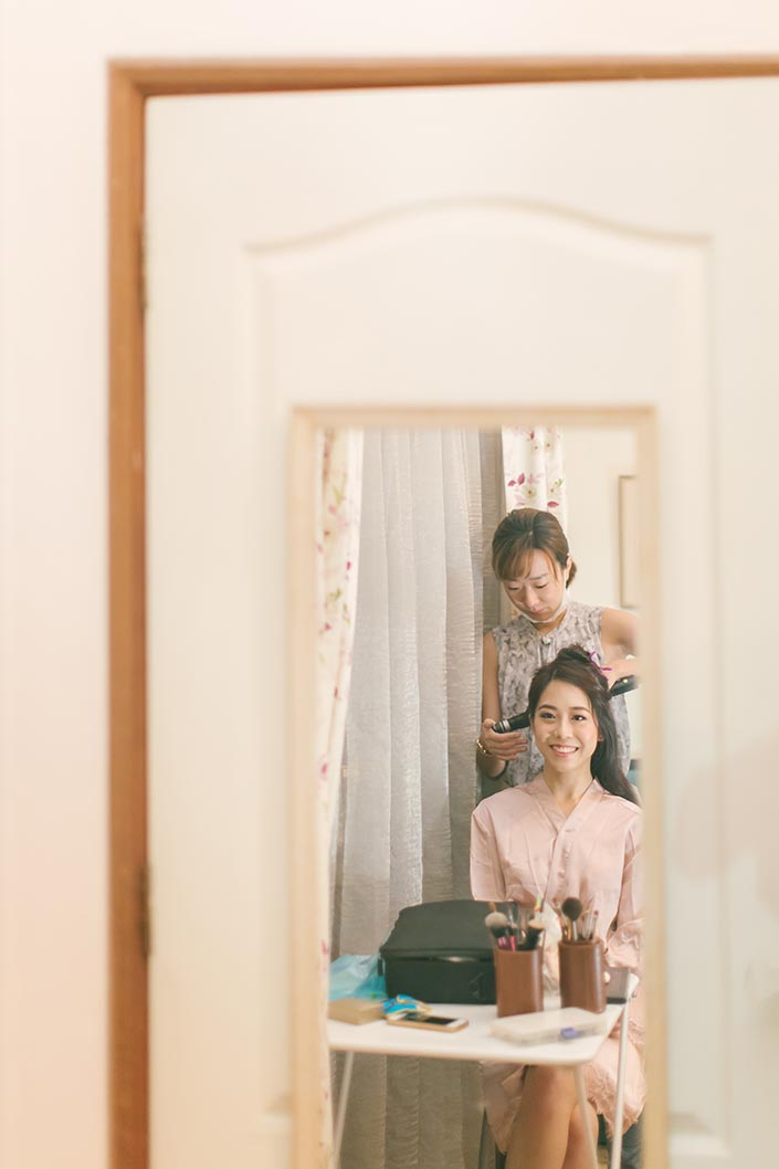 Singapore Wedding Actual Day Photography (Hair & Makeup)