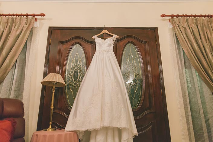 Singapore Wedding Actual Day Photography (Wedding Gown)
