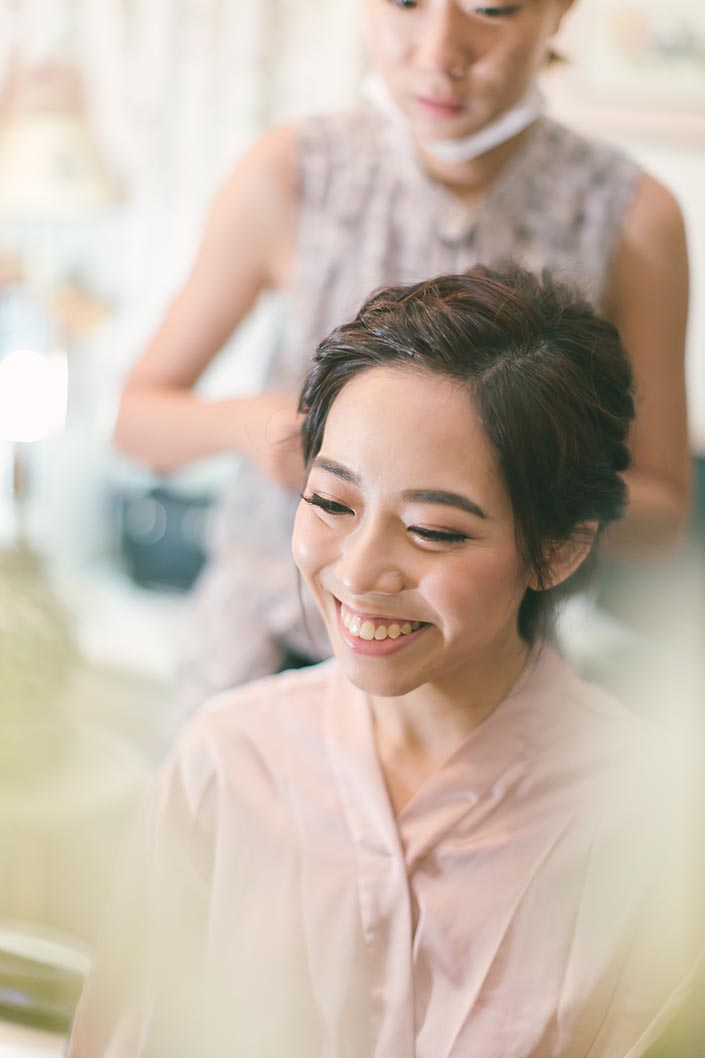 Singapore Wedding Actual Day Photography (Hair & Makeup by Charlene Yu)