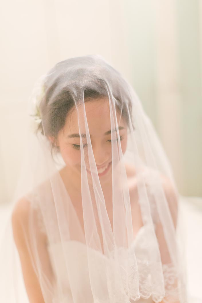 Singapore Wedding Actual Day Photography (Bride veiling)