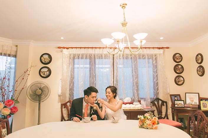 Singapore Wedding Actual Day Photography (Eat Tang Yuan)