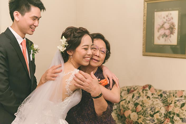 Singapore Wedding Actual Day Photography (Family love)