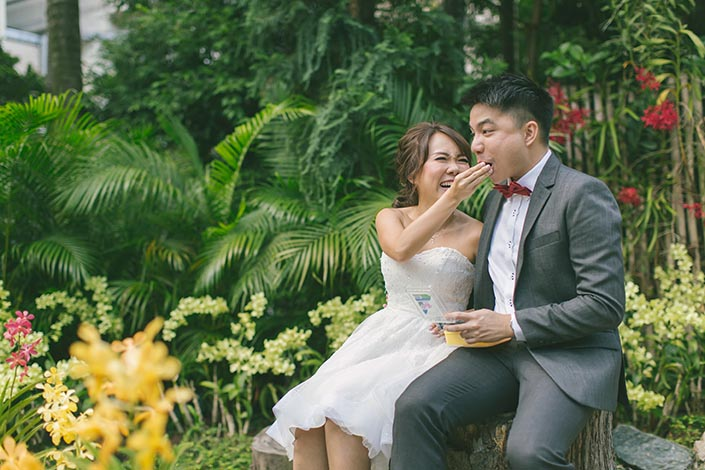 Singapore Pre-Wedding Photography at Sentosa