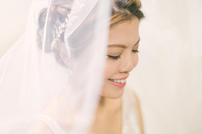 Singapore Wedding Day Photography (Bridal Portrait)