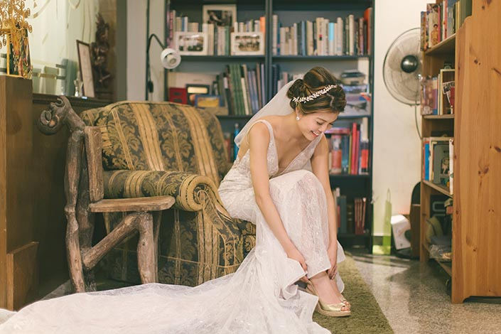 Singapore Wedding Day Photography (Wearing Shoes)