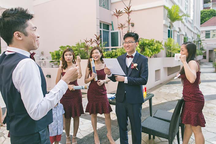 Singapore Wedding Day Photography Gatecrash