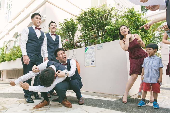 Singapore Wedding Day Photography Gatecrash Games