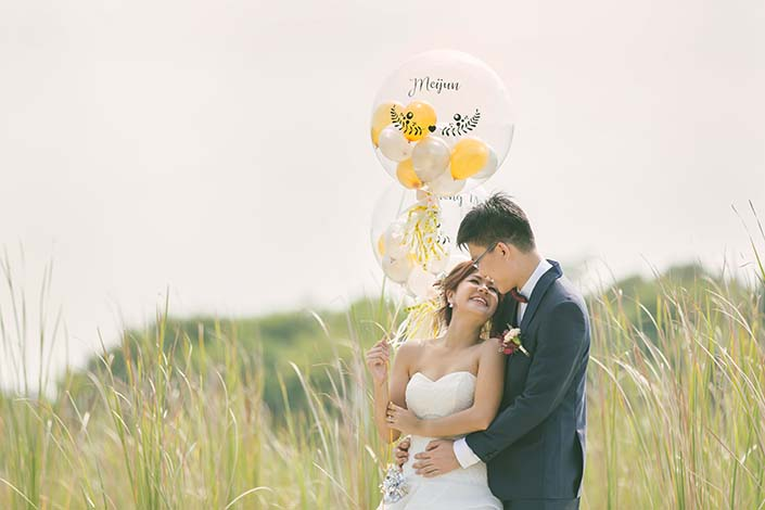 Singapore Wedding Day Photography at Lorong Halus and Mandarin Orchard