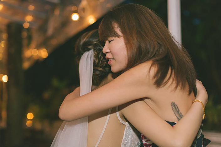 Singapore Wedding Day Dinner Photography at Botanico (The Garage)