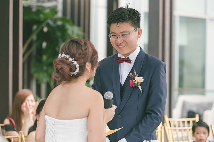 Singapore Wedding Solemnisation Photography at Mandarin Orchard