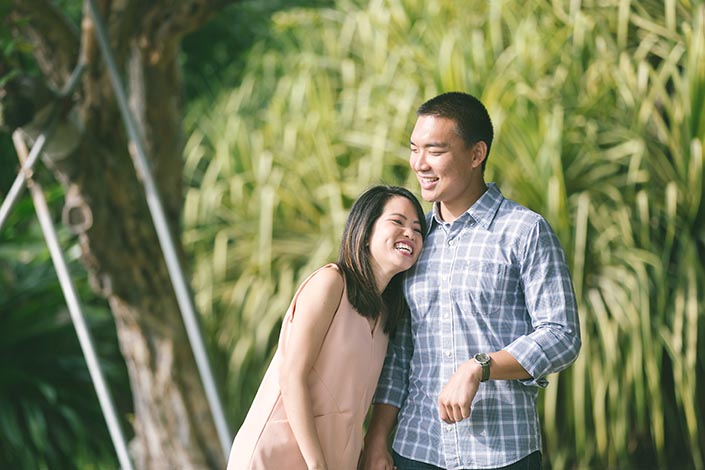 Wedding Proposal Photography at Gardens by the Bay