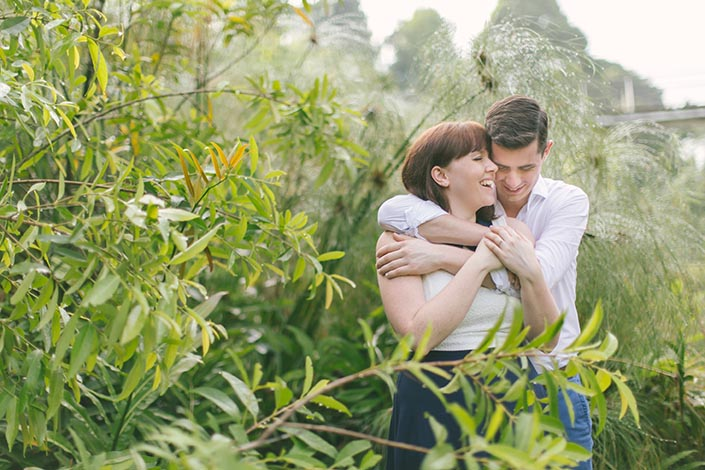 Singapore Botanic Gardens (Learning Forest) Pre-Wedding Engagement Photography