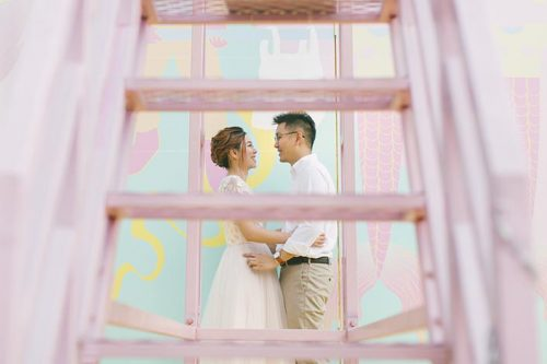 Gillman Barracks Pre-Wedding Photography Singapore