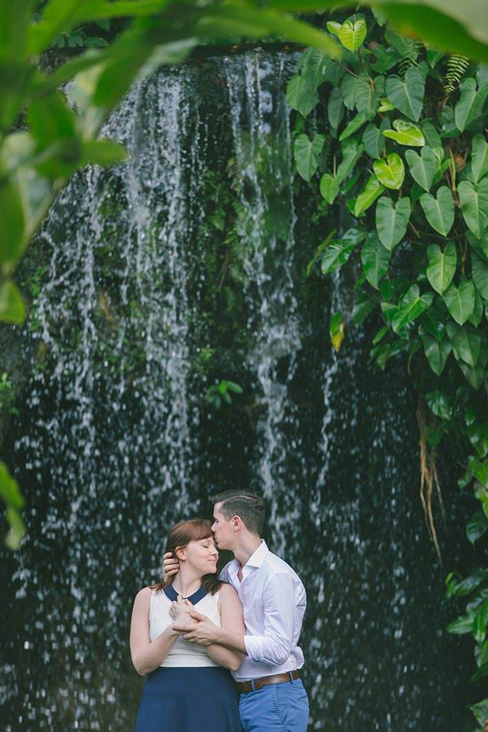 Singapore Botanic Gardens Pre-Wedding Engagement Photography