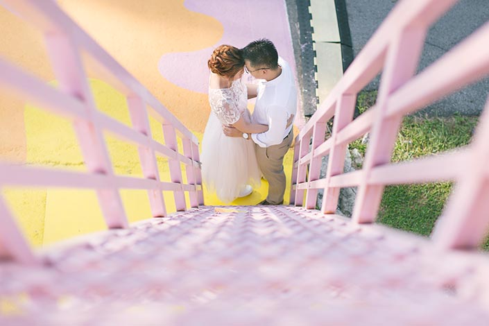 04_Singapore Pre-Wedding Engagement Photography at Gillman Barracks Disini Art