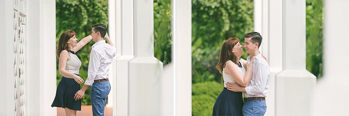 Singapore Botanic Gardens (Burkill Hall) Pre-Wedding Engagement Photography