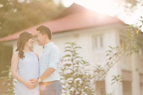 Seletar Aerospace Park Maternity Photoshoot Singapore