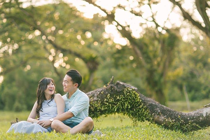 Singapore Maternity Photoshoot at Seletar Aerospace Park