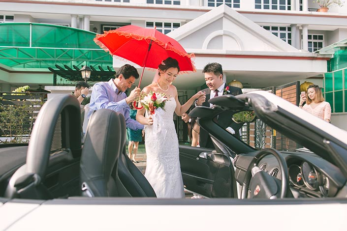 Actual Wedding Day Photography Singapore