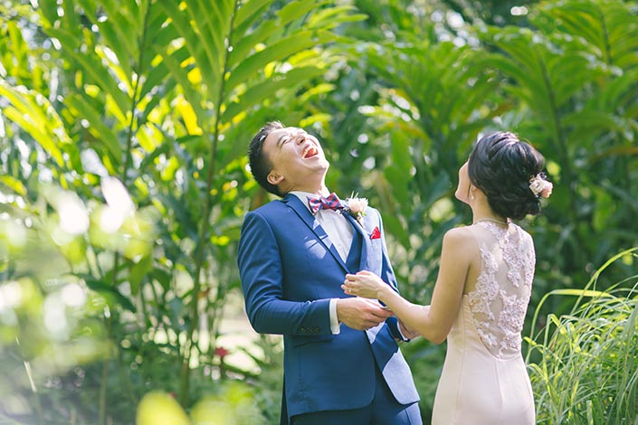 Botanic Gardens Outdoor Pre-Wedding Photography