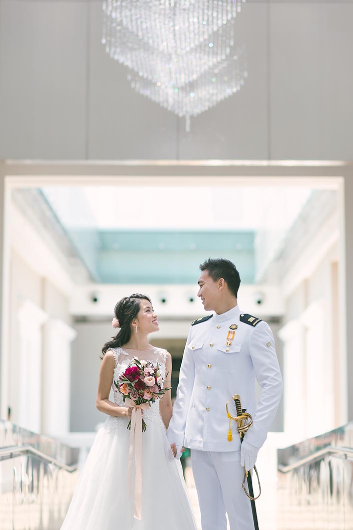 National Museum Pre-Wedding Photography