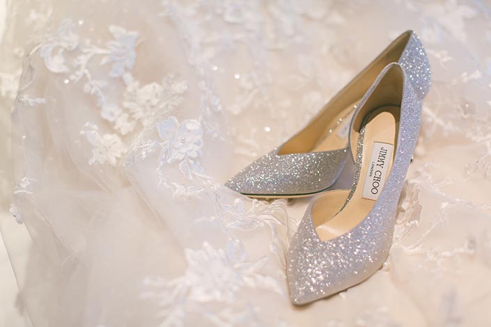 Wedding Day Photography Jimmy Choo shoes
