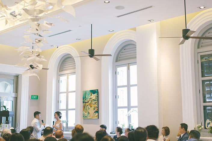 Wedding Thank-You Speech at Flutes