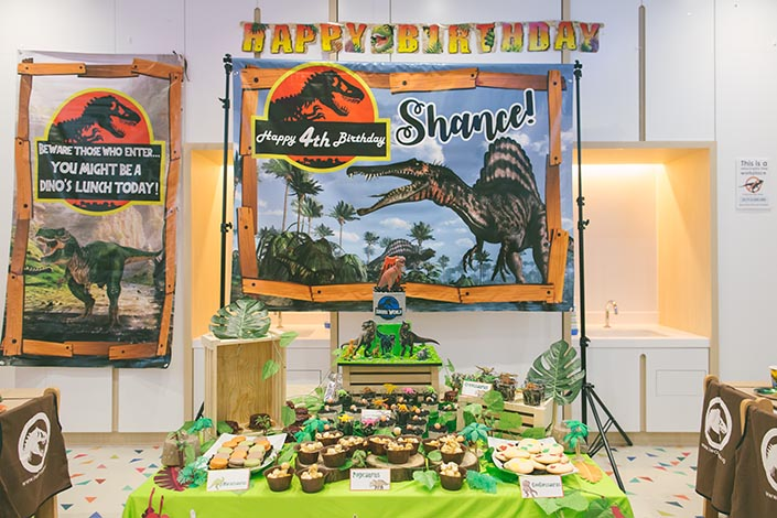 Buds by Shangri-Lah Dinosaur-themed Birthday Styling