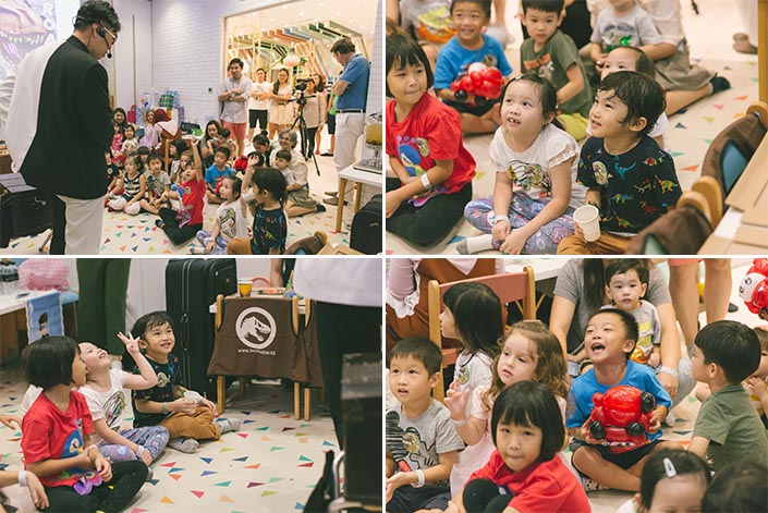 Magician show by Mr Bottle Kids Party