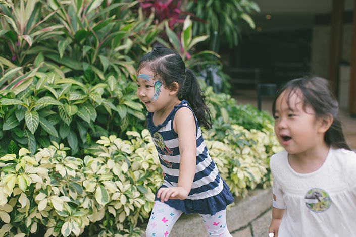 Treasure hunt at Shangri-La by Mr Bottle Kids Party