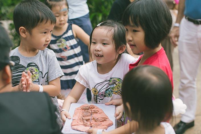 Treasure hunt at Shangri-La by Mr Bottle Kids Party