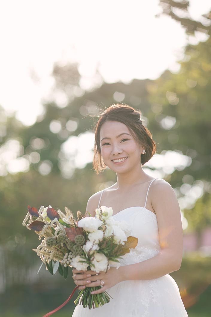 Bridal Portrait with Autelier Makeup and Fleurapy