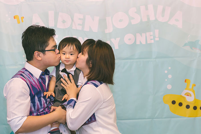 1-year old Birthday Party Photography at Coffeemin Suntec