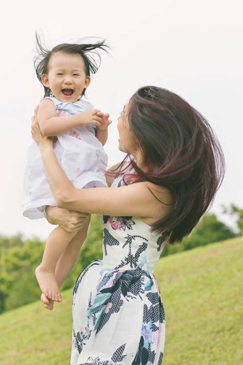 Outdoor Family Photoshoot at Punggol Waterway (Andy & Pearlyn)