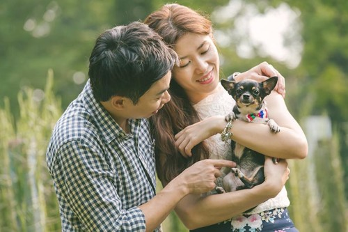 Picnic Perfect Love Story Photography at Singapore Botanical Gardens (Gavin & Annie)