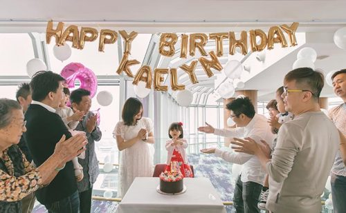 Salt Grill & Sky Bar Birthday Photography Singapore