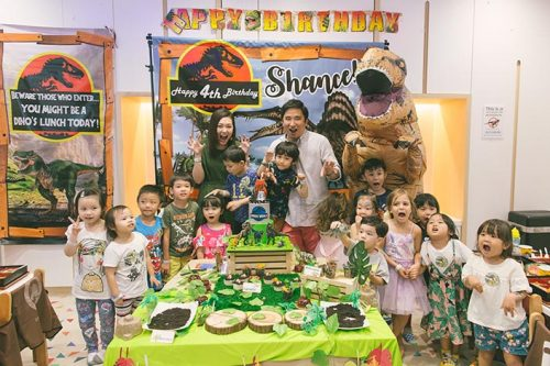 Buds by Shangri-La Dinosaur-themed Birthday Party Photography